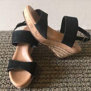 UGG cork wedge espradille Sandals!